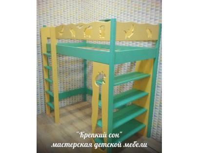 Кровать- чердак-Африка 80*160