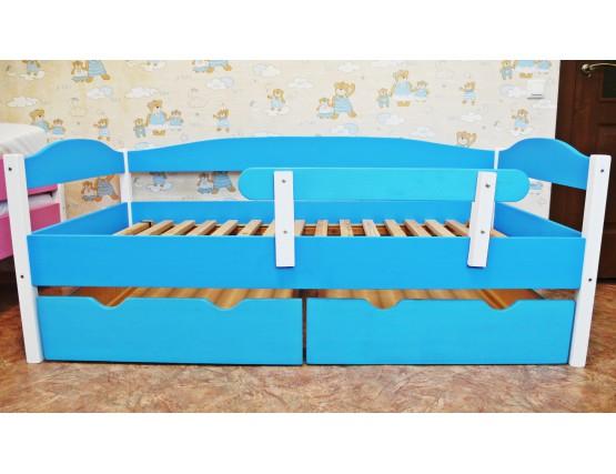 Матрас Кровать детская MAКСИ из массива сосны 80х160