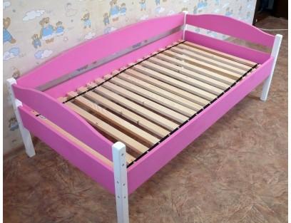 Кровать детская из массива сосны 80х160